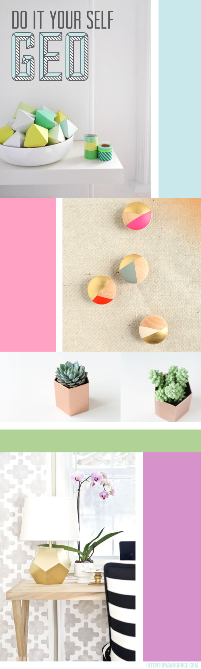 Geo DIY projects, geometric, triangle