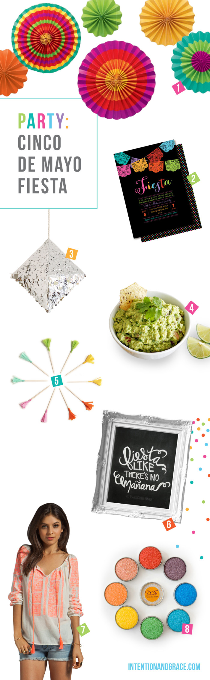 Cinco de Mayo Party Fiesta Ideas for 2014  | Intentionandgrace.com