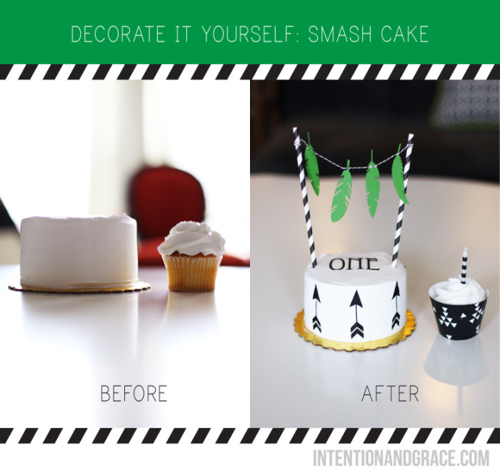 How To Decorate For A Cake Smsh