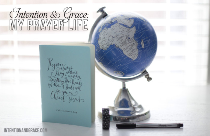 Intention and Grace for my prayer life. Prayer Journals by Val Marie Paper and other ways to stay on track with prayer. Don't let busyness win. |  Intentionandgrace.com