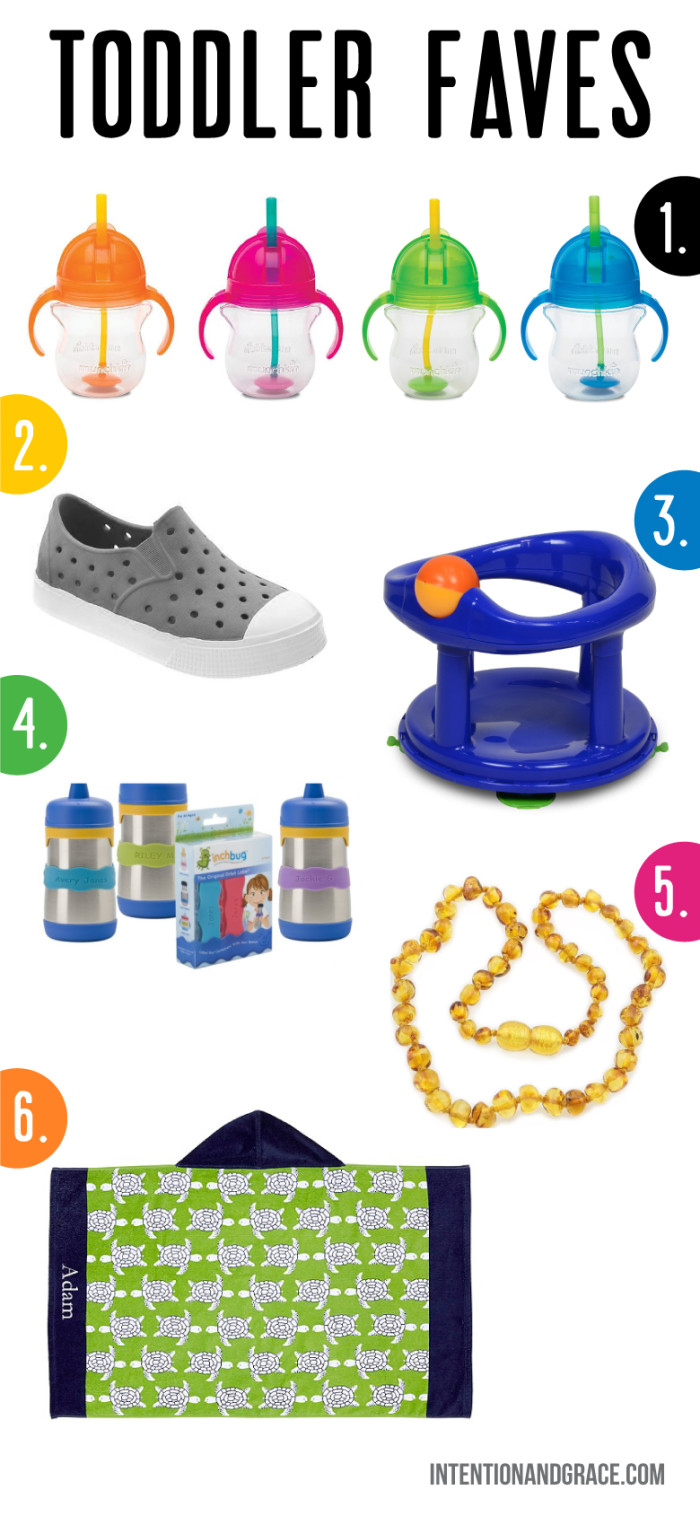 Our favorite toddler items. The best sippy  straw cup, some awesome shoes and amber teething necklace plus more!