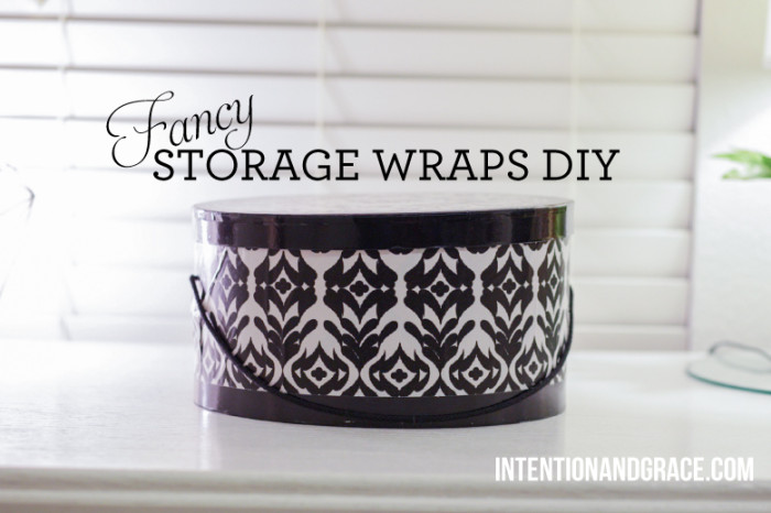 DIY Canister storage from baby formula containers  |  Intentionandgrace.com