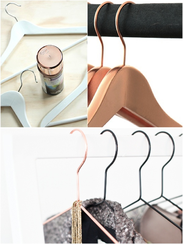 DIY Copper hangers