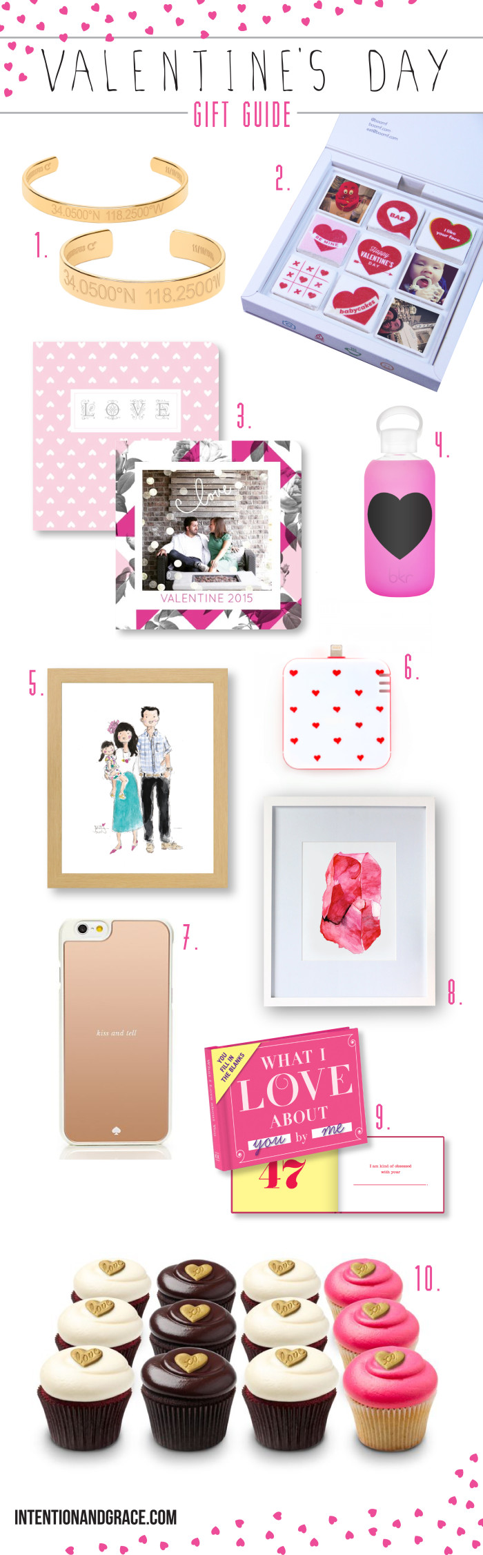 Ten Valentine's day items you'll gush over  |  Valentines Day gift guide 2015  |  intentionandgrace.com