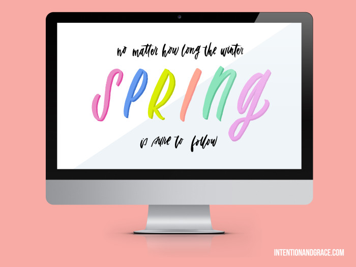 Spring 2015 March Desktop wallpaper