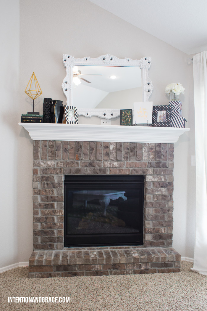 Fireplace DIY remodel
