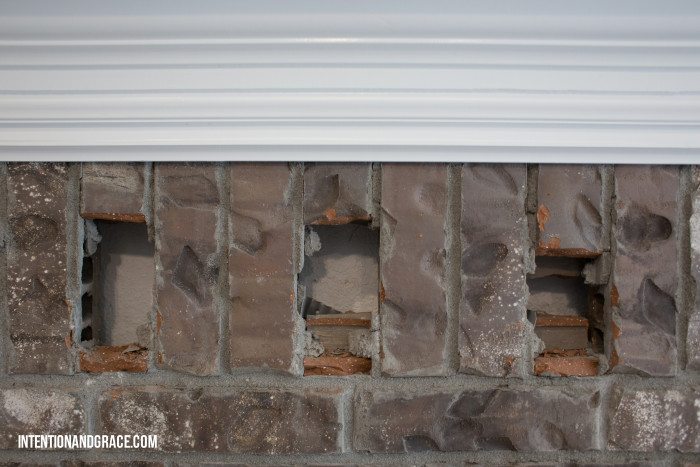 Fireplace upcycle DIY