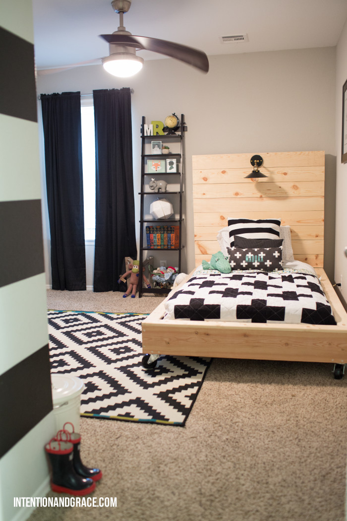 Big boy bed status intention grace for Big boys bedroom ideas