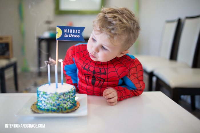 Spiderman_candles